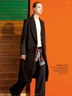 visual optimism; fashion editorials, shows, campaigns & more!: comfort zone: daga ziober by johan sandberg for elle sweden november 2014