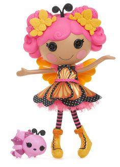Lalaloopsy Doll- Mona Arch Wings