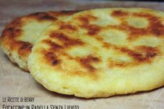 Muffins in the pan without yeast I Love Food, Good Food, Bread Recipes, Cooking Recipes, I Foods, Italian Recipes, Food Inspiration, Vegetarian Recipes, Bakery