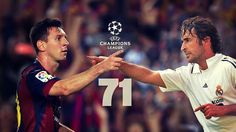Messi equals Raul's #UCL goalscoring record 05.11.2014