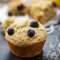 Flourless Blueberry Lemon Poppyseed would make a great gift to brighten up someone's day. - KS