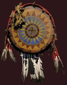 Native American Indian Shields.                                                                                                                                                      More