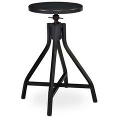 Industrial-style Swivel Stools like ours were widely used in yesterday's factories, and they mix in perfectly with today's home. Note the sturdy X-base, round swivel top and versatile painted finish. Some customer assembly may be required. Magnolia Home designed by Joanna Gaines.