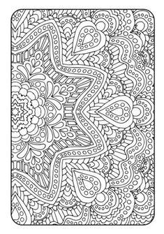 Adult coloring book art therapy volume 2 por bysarahrenaeclark more coloring book art, mandala coloring Coloring Book Art, Mandala Coloring Pages, Free Coloring Pages, Coloring Sheets, Pattern Coloring Pages, Coloring Pages For Adults, Detailed Coloring Pages, Love Mandala, Mandala Art