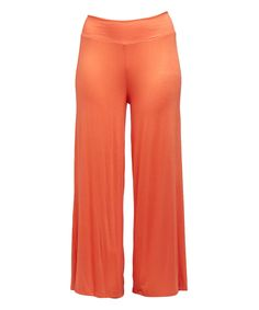 Take a look at this Tangerine Palazzo Pants - Plus today!
