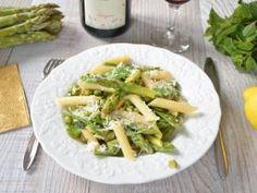 Pasta primavera {asperges, petits pois, pois gourmands et parmesan} • Hellocoton.fr