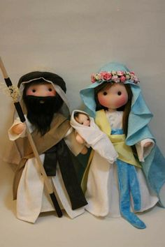 Christmas Fabric, Christmas Items, Felt Christmas, Christmas Ornaments, Raggy Dolls, Felt Dolls, Holiday Crafts, Fun Crafts, Bible Quiet Book