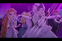 Ever After High Thronecoming Holly O'hair and Duchess Swan