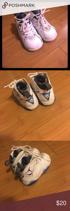 Air Jordan French Blue 7s Air Jordan French Blue retro 7s size 6c Air Jordan Shoes Sneakers