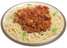 Spaghetti bolognaise met groenten