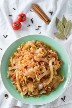 Spicy Shredded Cabbage | omgfood.com  This is so delicious! Love it!