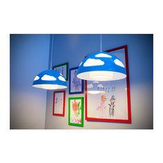 SKOJIG Hängeleuchte - blau - IKEA 20 Euro