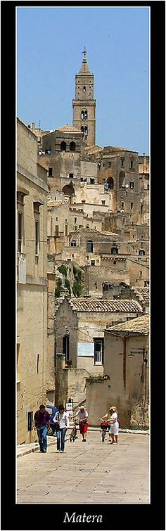 Matera, Italy - World Heritage Sites by UNESCO