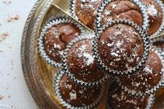 Muffins με ταχίνι - ION Sweets