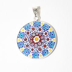 2179614_orig.jpg (796×800)                 ( Murano glass millefiori pendent, each individual & unique; $28.00)