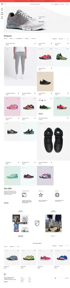 S'Shoe Store - #webdesign #inspiration