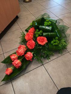 Tropical Floral Arrangements, White Flower Arrangements, Funeral Flower Arrangements, Flower Centerpieces, Casket Flowers, Grave Flowers, Flower Wreath Funeral, Funeral Flowers, Wedding Car Decorations