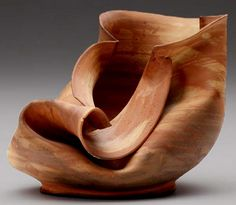 """Sculptural Vessel,"" by George Ohr (1857-1918)"