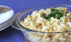 Healthy macaroni cheese