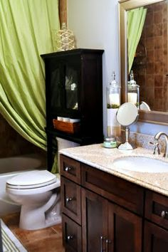 Finding My Aloha: Making PB Style Faux Coral and my Bathroom Reveal I love this bathroom!
