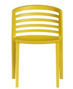 Chairs With a Punch of Color by Jeanine Hays on @HGTV.  Venezia Mustard Yellow Chair.
