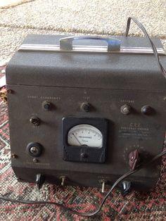 vintage C.R.T Restorer-tester Allen Joseph Model 53-107    eBay