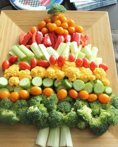 Plus de 30 plateaux de fruits et légumes pour Noël!