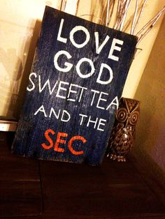 Love the SEC by HarleyandElise on Etsy, $25.00- yeah but ima need that sec to be crimson.