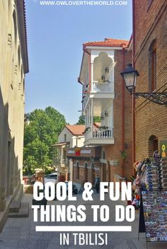 You can find cool & fun things to do in Tbilisi at every corner. The city is lively, energetic and vibrant.   Things to do in Tbilisi / Cool things to do in  Tbilisi / Fun things to do in Tbilisi / What to see in Tbilisi / What to do in Tbilisi / Tbilisi travel tips / Visit Tbilisi, Georgia / Things to do in the Georgian capital / Tbilisi things to see and do /  Cool and fund things to do in Tbilisi / Tbilisi travel guide / The best things to do in Tbilisi