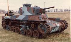 type 97 chi-ha   1937 - Japanese Type 97 Chi-Ha Medium Tank
