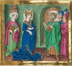 """Furtmeyr-Bibel (Deutsche Bibel """"Münchener Altes Testament""""). Band 1:  Genesis - Ruth. Cgm 8010a 1465-70, Regensburg Folio 180"""