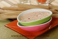 Dippy Sticks: Vegetable fingers with cheese dip - as tasty as healthy.