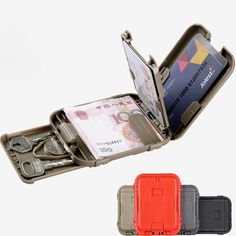 EDCCOOL Military Addictive Army fans Smart RFID Blocking Wallet Tactical Multifunction Anti-degaussing Wallet Protect Gear