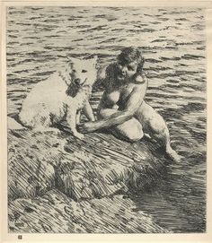 Plate XI, Anders Zorn