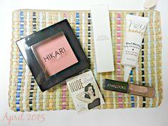 ipsy Bag Reveal April 2015 #beauty #ipsy #makeup #style