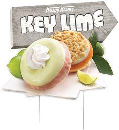 This way to Key Lime Doughnuts (Key Lime Cake and Key Lime Cheesecake)