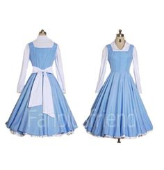 Amazon.com: Costumesky Beauty and The Beast Belle cosplay costume (Email us your Size): Clothing