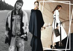 Natalie Westling in a campaign collage gif, created exclusively for anothermag.com. See more HERE.
