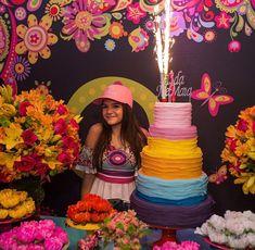Confira os looks de Mel Maia em sua festa de 13 anos. Veja fotos!
