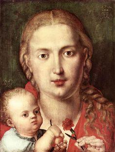 madonna of the carnation 1513 albrecht durer