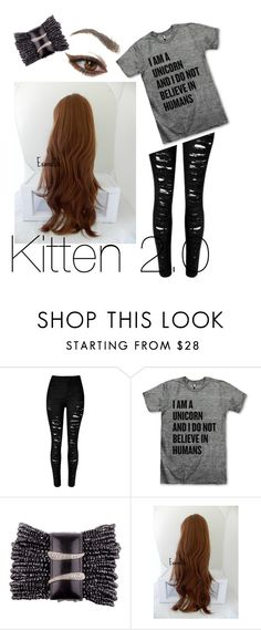 """""""Kitten 2.0"""" by kawaii-kitty-chan on Polyvore"""