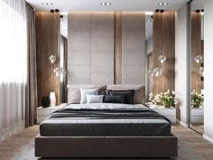1 или Interior design by - Architecture and Home Decor - Bedroom - Bathroom - Kitchen And Living Room Interior Design Decorating Ideas - Master Bedroom Design, Home Bedroom, Modern Bedroom, Bedroom Ideas, Girls Bedroom, Hotel Bedroom Decor, Modern Headboard, Ikea Bedroom, Bedroom Wardrobe