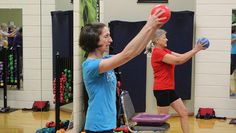 At 6 inches across, a fitness ball seems like a tiny piece of equipment. But these three exercises can get you started toward huge results. Wellness Fitness, Fitness Tips, Tight Hip Flexors, Chair Exercises, Group Fitness Classes, Psoas Muscle, Senior Fitness, Low Impact Workout, Stay In Shape
