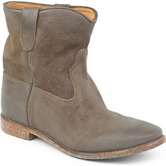 ISABEL MARANT Crisi suede ankle boots (Taupe