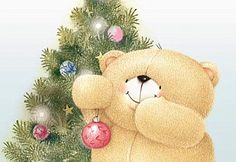 Hello Kitty Christmas, Christmas Love, Christmas Cards, Christmas Ornaments, Friend Cartoon, Bear Character, Cute Teddy Bears, Tatty Teddy, Time To Celebrate