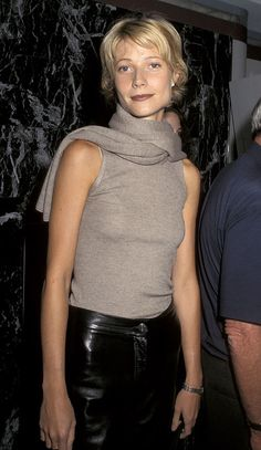 Gwyneth Paltrow c 1997. Channeling a punk rock CBK during this time.