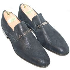 Scarpe da sposo, scarpe da cerimonia ...perche' gli accessori fanno la differenza... scarpe da matrimonio blu scarpe da sposo blu Mocassino Allevi sposo gentemoda.it