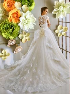 Tea Length Wedding Dress, Wedding Gowns, Lace Wedding, Lace Dress, Glamour, Fashion, Brides, Bridal Gowns, Homecoming Dresses Straps