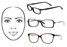 Eyeglass frames for oval face shape: frames that are wide as the broadest part of your face, most shapes work