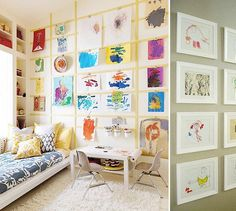 7 Charming Gender-Neutral Kid's Room Ideas - The Accent™ Modern Kids Bedroom, Girls Bedroom, Bedroom Decor, Bedroom Ideas, Kids Room Art, Children Playroom, Playroom Ideas, Boys Room Design, Artist Bedroom